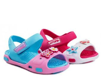 Пляжная обувь Котофей (24-29) | бел-фуксия