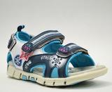 Туфли пляжные Канарейка  (21-25) | синий-черный